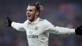 Gareth Bale, en un partido del Real Madrid