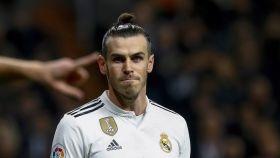 Gareth Bale, durante un encuentro del Real Madrid en Liga