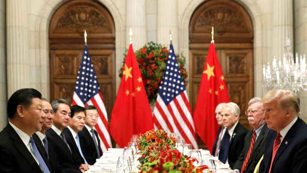 Donald Trump y Xi Jinping en el G20