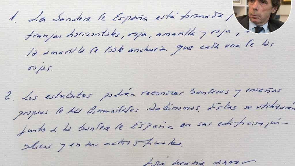 José María Aznar, artículo 4.