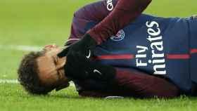 Neymar, durante un partido