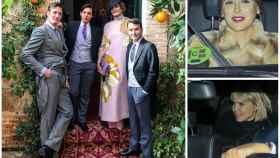 Algunos invitados de la boda de Alejandra de Rojas y Beltrán Cavero en un montaje de JALEOS