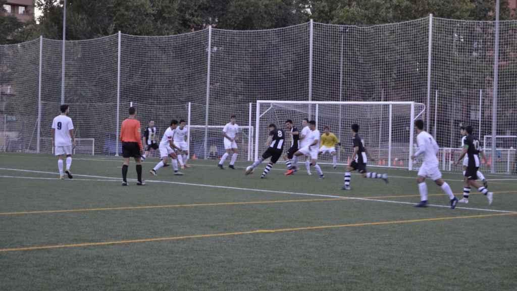 Un partido de liga del CD Peñagrande. Imagen cedida por el CD Peñagrande