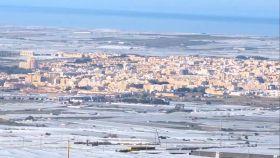 Imagen aérea del mar de plástico de El Ejido.