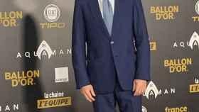 Didier Deschamps en la gala del Balón de Oro
