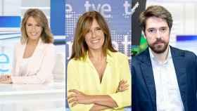 Pilar García Muñiz, Ana Blanco y Carlos Franganillo.