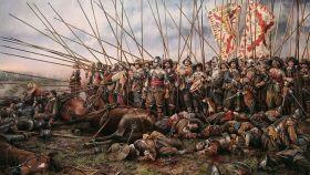Tercios españoles en la batalla de Rocroi.