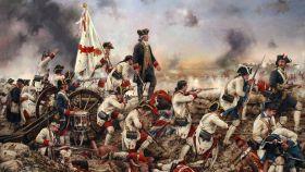 'Gálvez en América', un cuadro de Augusto Ferrer-Dalmau.
