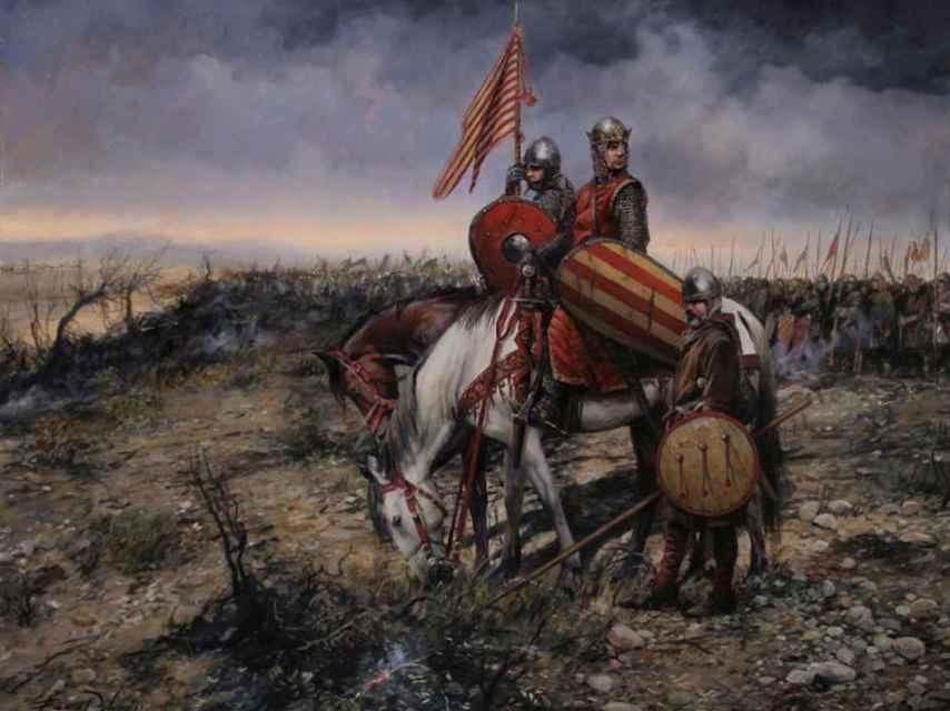 La batalla de las Navas de Tolosa.