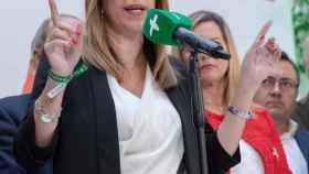 Susana Díaz, presidenta andaluza en funciones.