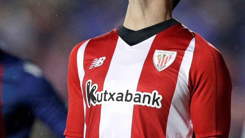Aduriz, en un partido frente al Athletic