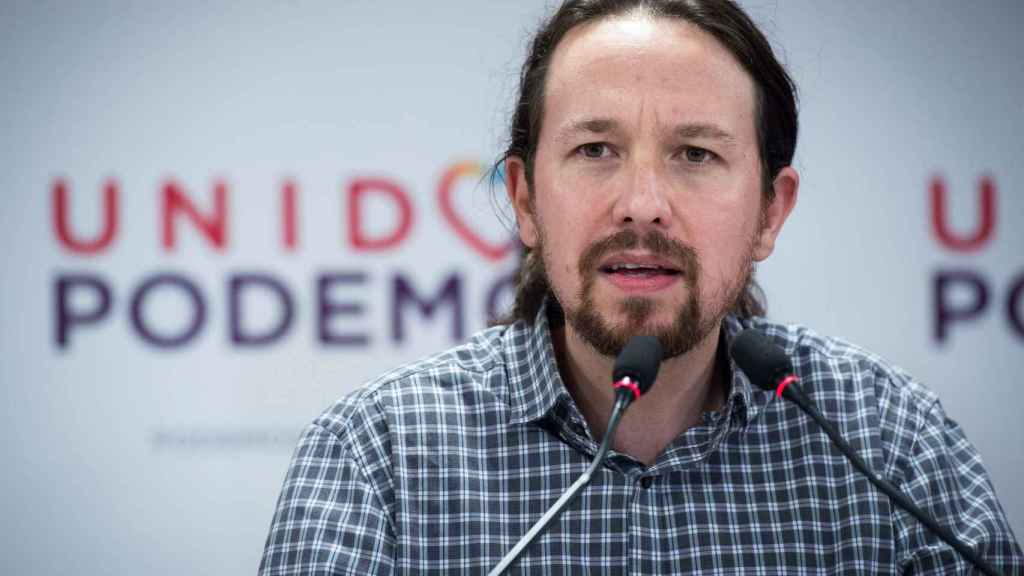 Pablo Iglesias (Podemos).