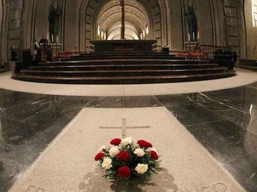 Tumba de Franco en el Valle de los Caídos./