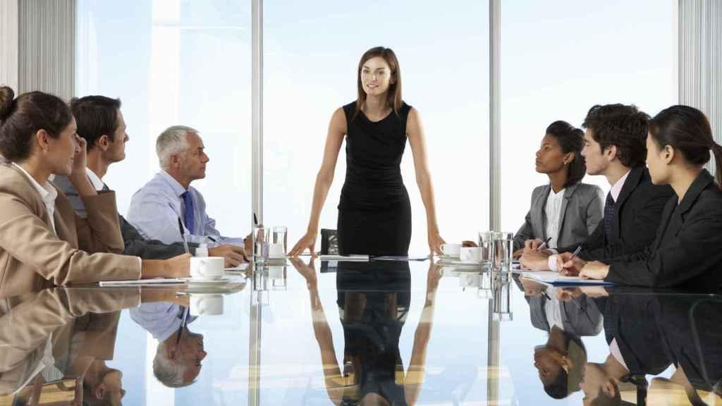 Un grupo de directivos en una imagen de archivo.