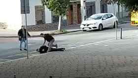 Imágenes del tiroteo ocurrido en Barcelona este lunes por un conflicto entre clanes.