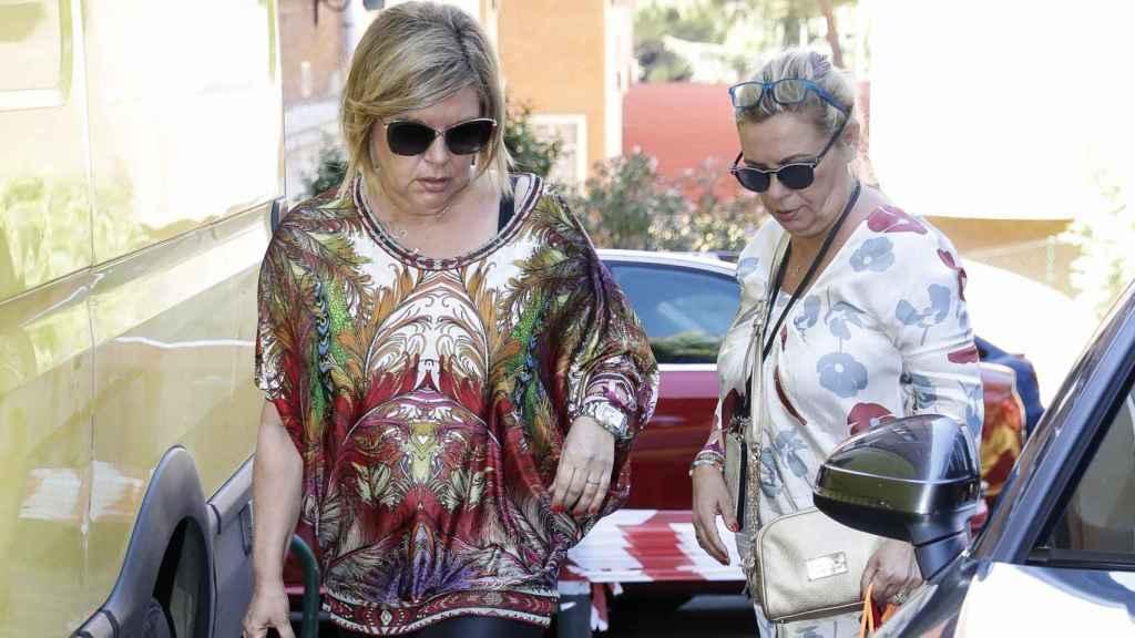 Terelu Campos y Carmen Borrego en una imagen de archivo