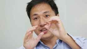 He Jiankui, el pasado julio, en su empresa de Shenzen, Direct Genomics.