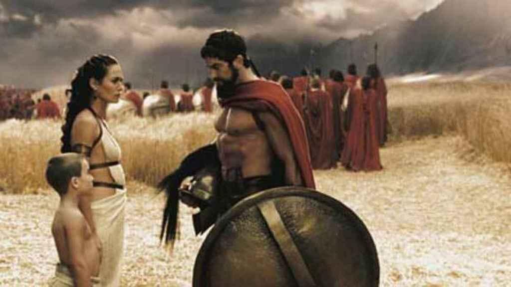 Familia espartana.