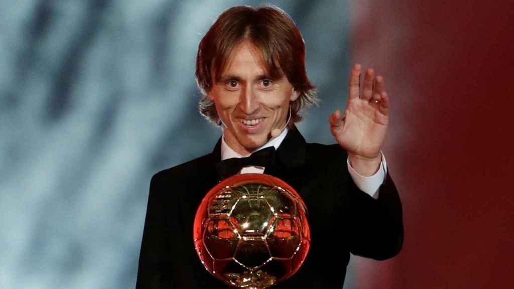 Luka Modric Balón de Oro 2018