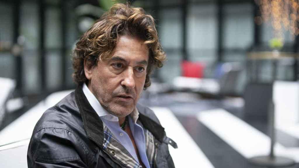 Álvaro de Marichalar, durante la entrevista.