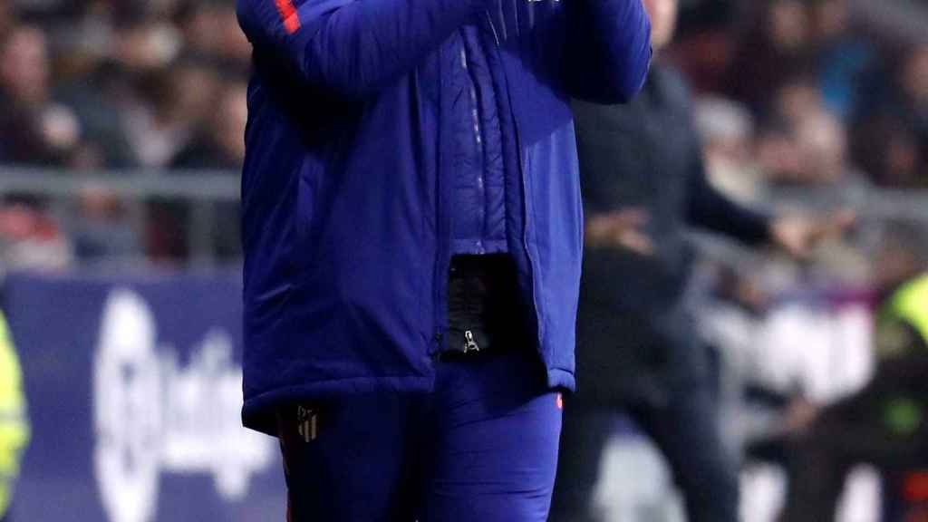 Germán 'Mono' Burgos con el Atlético de Madrid