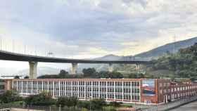 La planta de vizcaína de Bombardier situada en Trápaga.