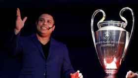 Ronaldo junto a la Champions