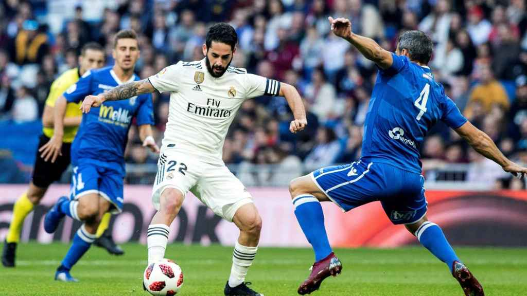Isco en el Real Madrid - Melilla