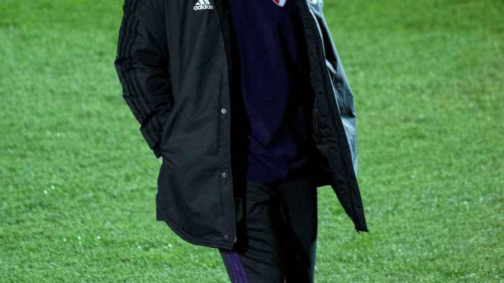 Gallardo, técnico de River Plate