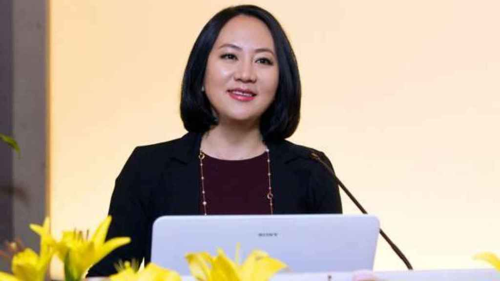 Meng Wanzhou, la directora financiera de Huawei