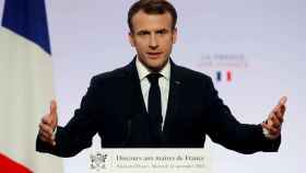 Macron, en una imagen de archivo.