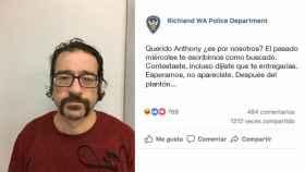 Un fugitivo contesta a la policía en Facebook y parecen unos enamorados