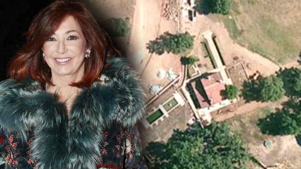 Ana Rosa y su finca de Cáceres.