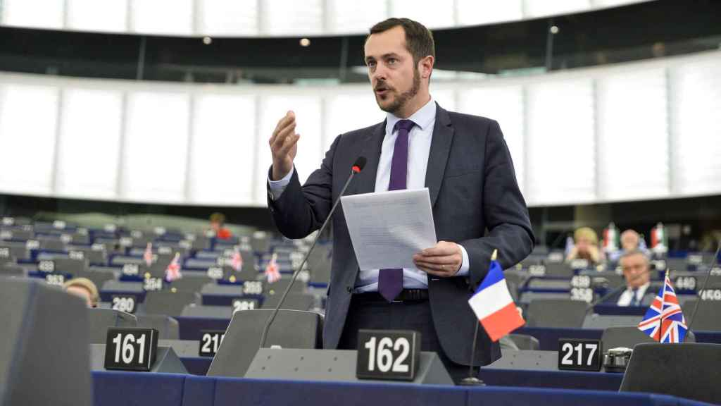 El copresidente de Europa de las Naciones y las Libertades, Nicolas Bay