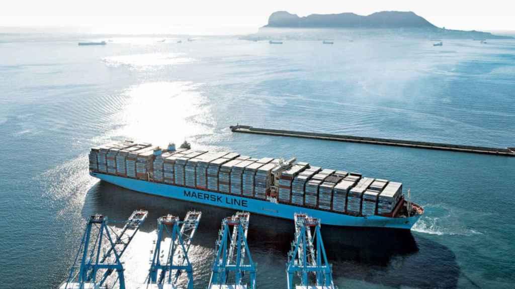 maersk barco buque carga 2