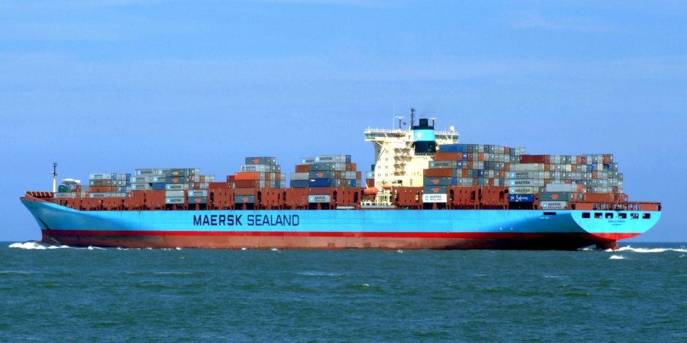 maersk barco buque carga 1