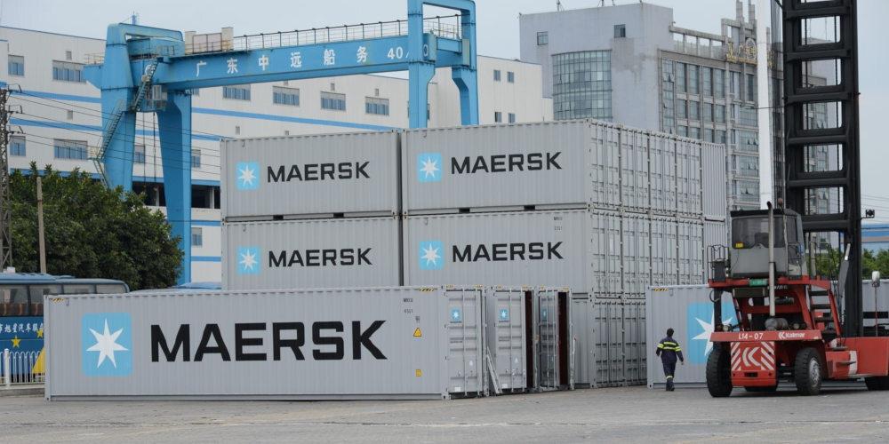 maersk barco buque carga 3