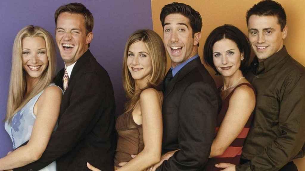 El reparto de la mítica serie 'Friends' que todavía puede verse en Netflix