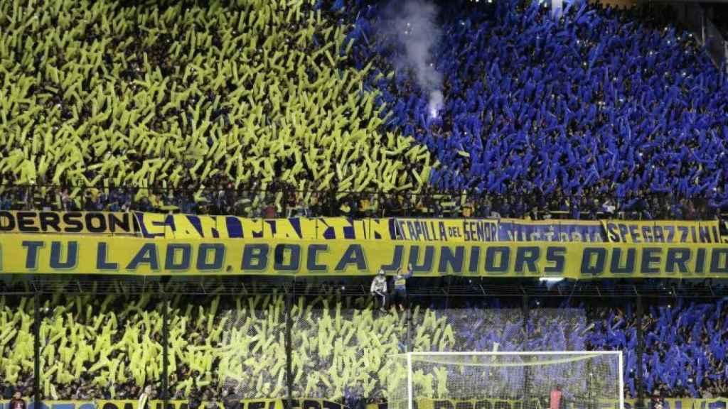 'La 12', barra brava de Boca Juniors