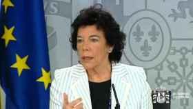 La ministra portavoz, este viernes durante la comparecencia posterior al Consejo de Ministros.