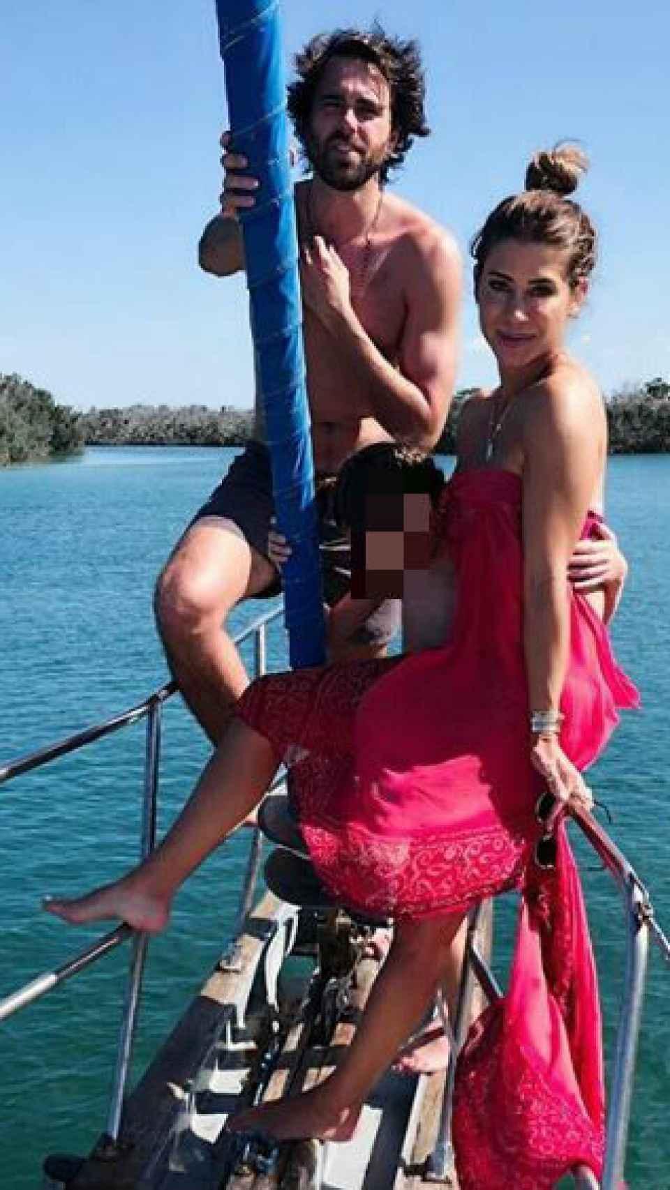 La foto que publicó Elena.