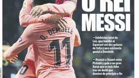 La portada del diario Mundo Deportivo (09/12/2018)