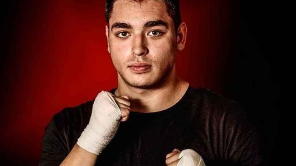 El boxeador mexicano Darío Larralde. Foto: Instagram (@larraldedario)