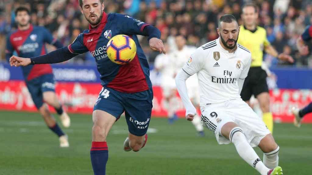 Benzema frente al Huesca