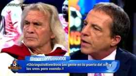 Gatti vs Soria Foto: Twitter (@elchiringuitotv)