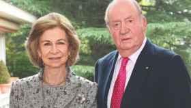 Los reyes eméritos Juan Carlos I y Sofía.