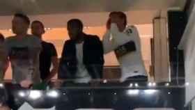 La falta de respeto de Griezmann a River: abucheó a los jugadores en el Santiago Bernabéu