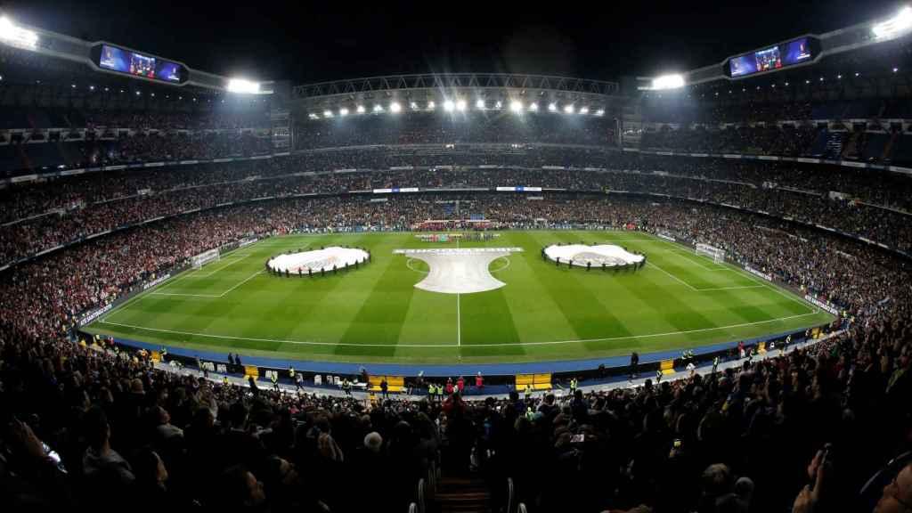 Final de la Copa Libertadores en el Santiago Bernabéu