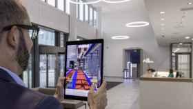 Esta herramienta de realidad aumentada permite ver las conductos que se esconden tras las paredes.