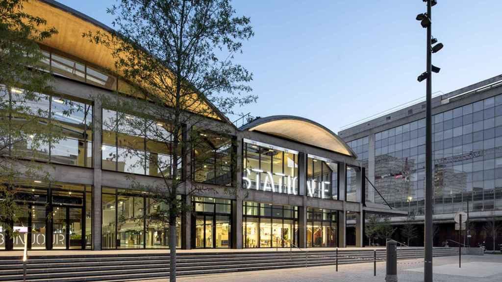 Station F, una de las mayores incubadoras de startups en Francia.